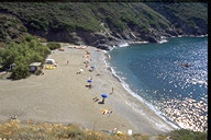 Remaiolo beach - Capoliveri - Elba Island beaches - Tuscany sea summer vacation.